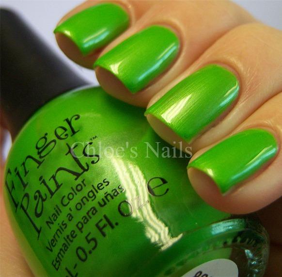 Chloe\'s Nails: FingerPaints 2011