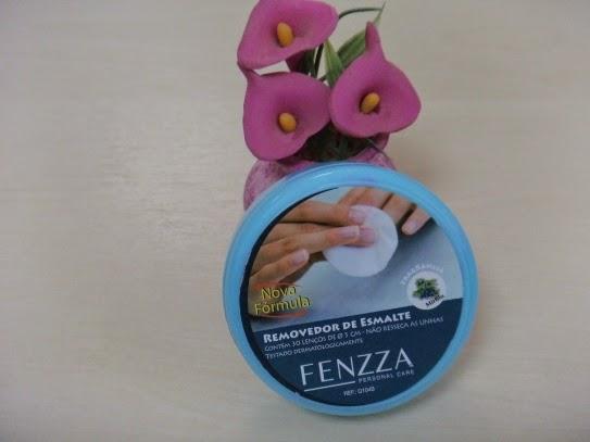 Lenços Removedores de Esmaltes - Fenzza