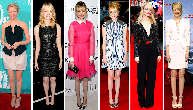 Emma Stone, style, red carpet, Spiderman