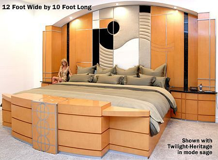 modern life style: Worlds-largest-bed