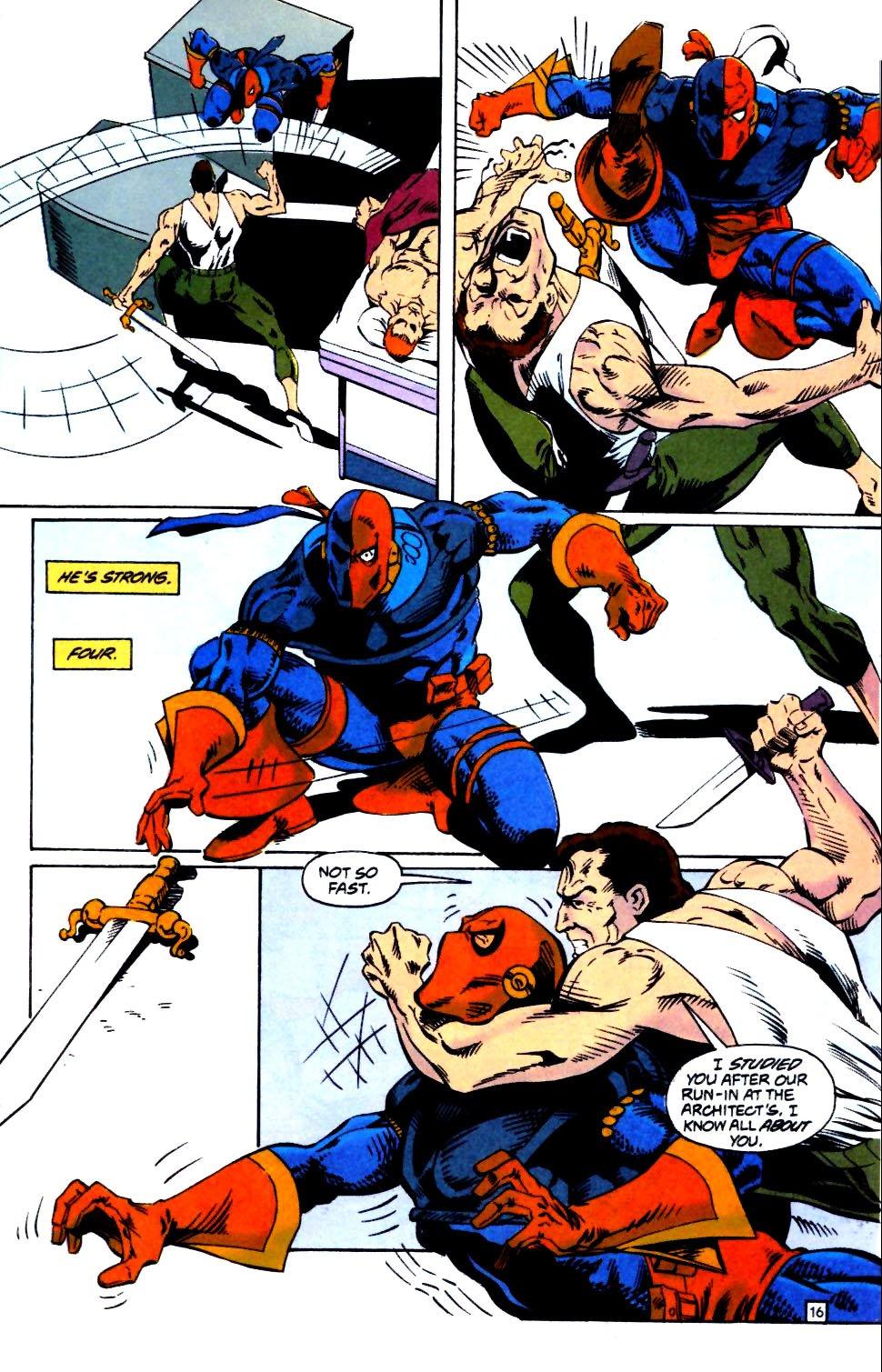 Deathstroke (1991) Issue #25 #30 - English 17