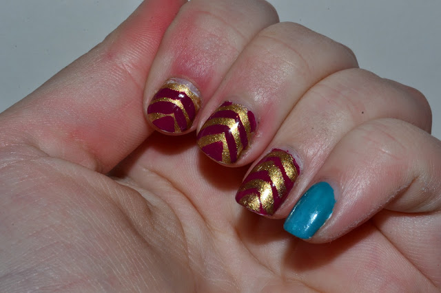 Golden Arrow Nails by Elins Nails