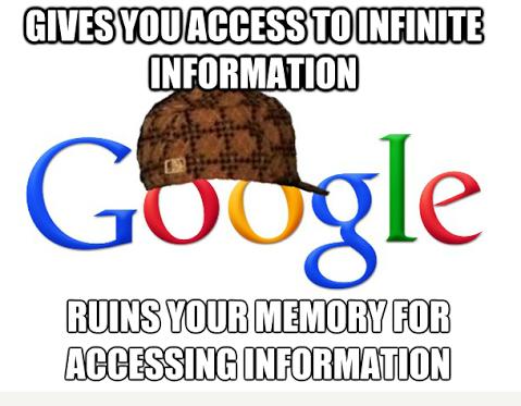 Μήπως το Internet μας κάνει πιο χαζούς; Το Google Effect στην πράξη....