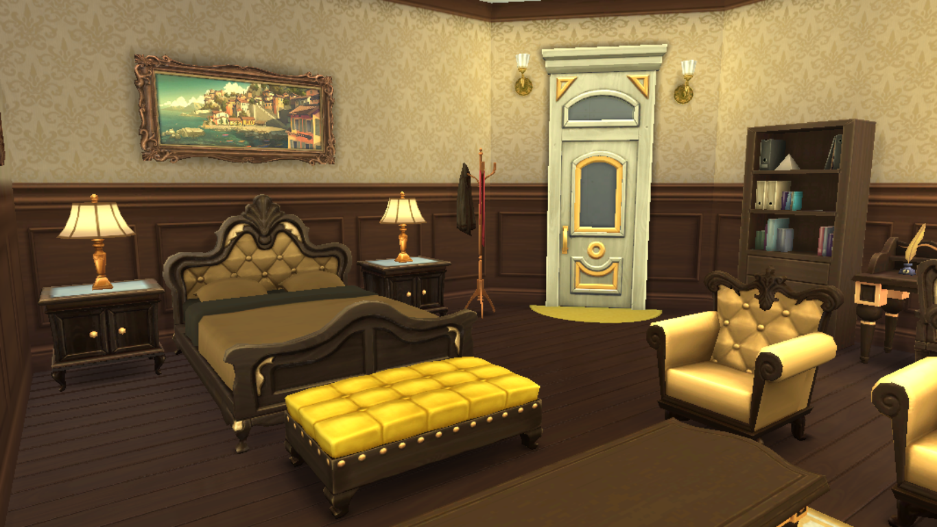 Sims 4 Bedroom