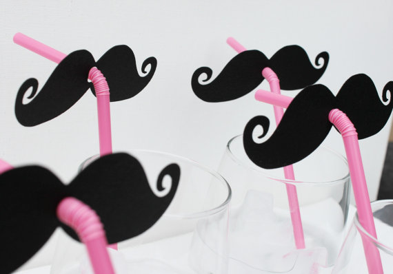 Wedding photoprop moustaches available from Little Retreats