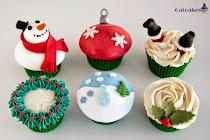 Curso cupcakes Madrid - Navidad