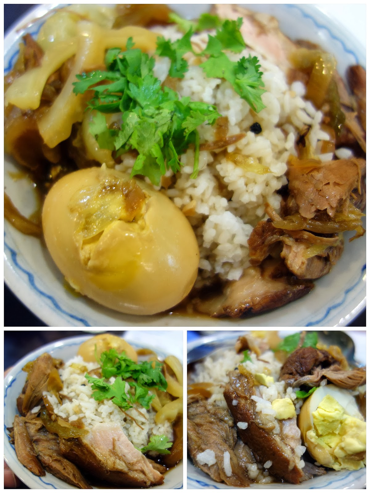 Tender, meaty stewed pork with egg & rice (RM9). Soul food, comfort ...