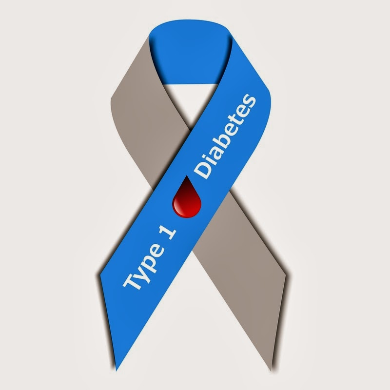 ☆ Type 1 Diabetes Awareness Ribbon ☆