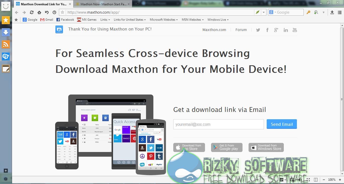 Maxthon Cloud Browser 4.4.1.4000 Terbaru Offline Installer