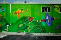mural tree forest art