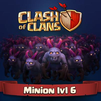 Minion level 6