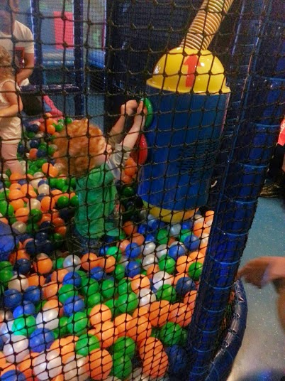 Moshi Monsters at Sea Life, Trafford Park, Manchester. Playing in soft play