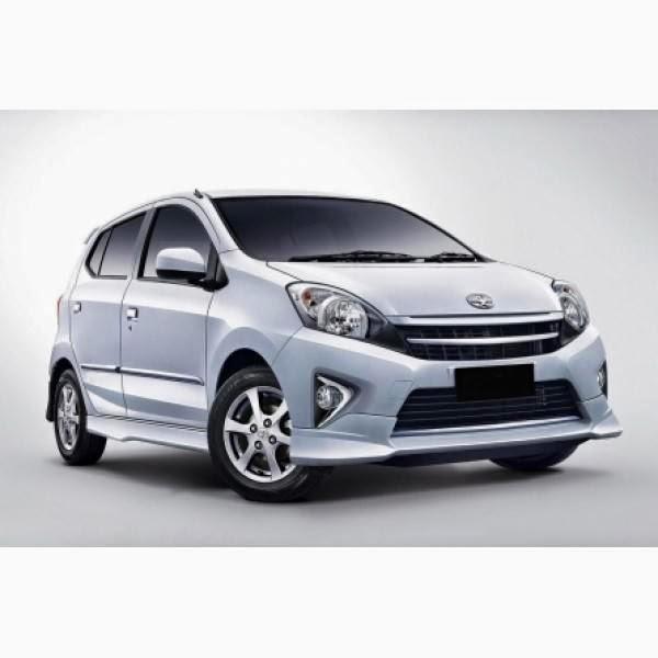 Body Kit Toyota Agya TRD Style