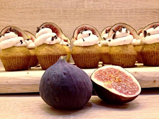Medové cupcakes s fíky