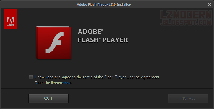 Adobe Flash Player Plugin 13.0 Non-IE Offline Installer