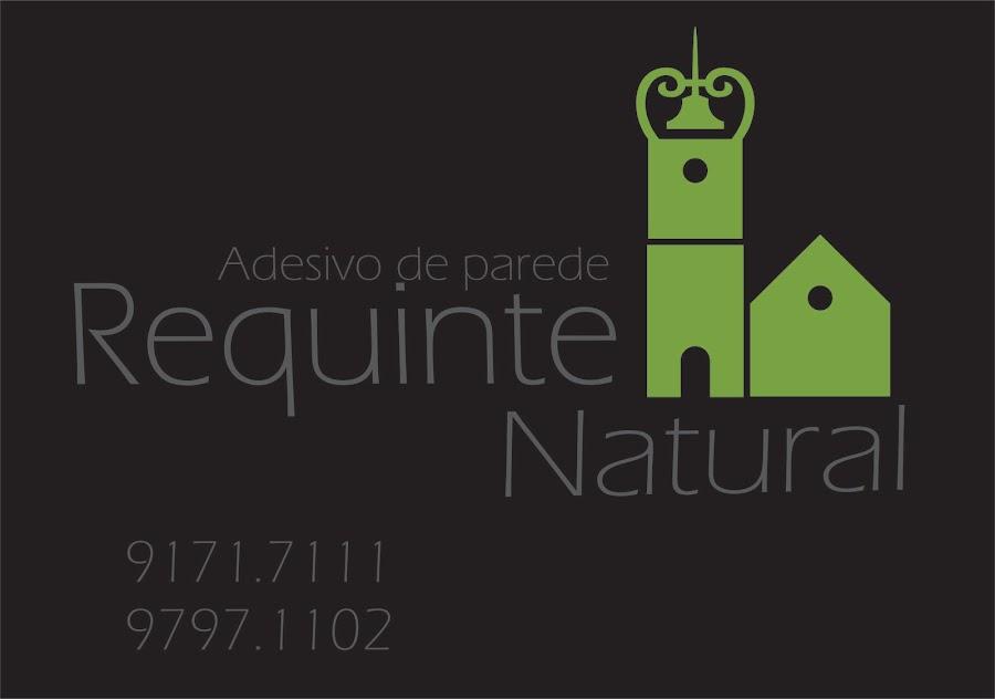 REQUINTE NATURAL   ADESIVO DE PAREDE