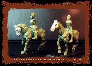 Piezas modulares para las miniaturas del Impero o los tercios de Gamezone, diseñadas y esculpidas por ªRU-MOR a escala warhammer fantasy