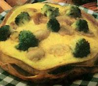 Resep Omelet Telur Brokoli Jamur