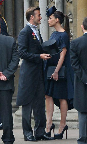 victoria beckham en la boda
