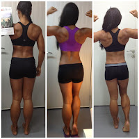 women muscular calves