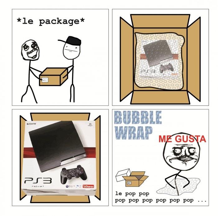 Bubble Wrap - Me Gusta