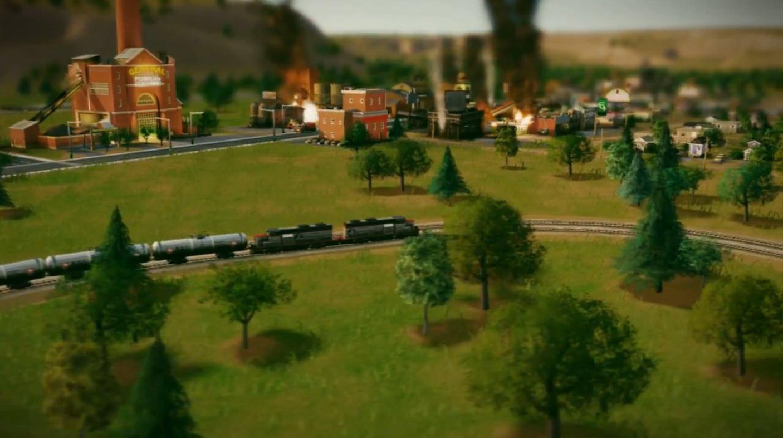 Поезда в SimCity: эксперименты Оушена Куигли