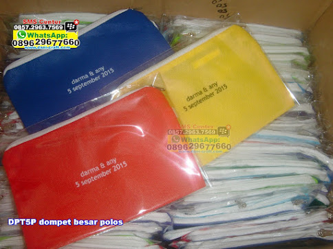 dompet besar polos jual