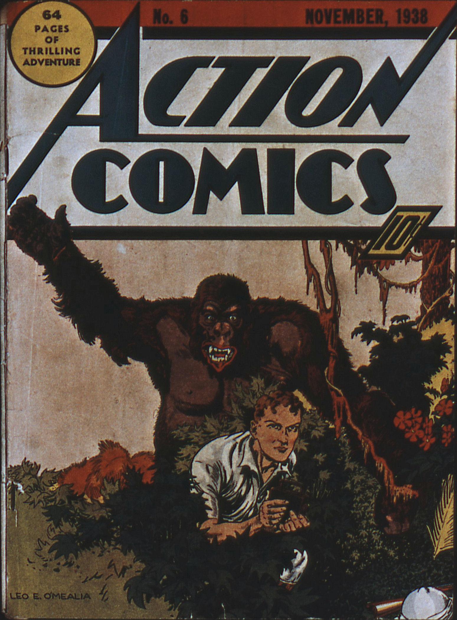 Action Comics (1938) 6 Page 1