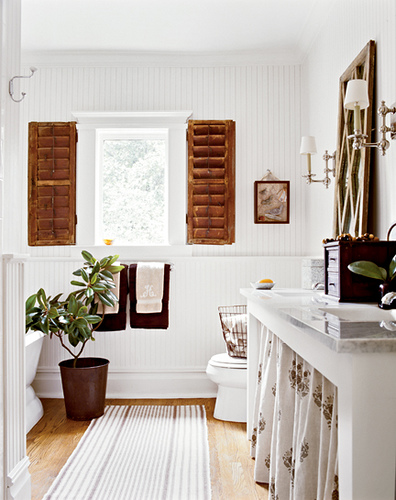 Amazing White Cottage Style Bathroom 396 x 500 · 108 kB · jpeg