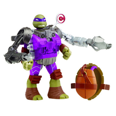 TOYS : JUGUETES - LAS TORTUGAS NINJA : Mutations  Donatello with Recon Battle Shell | Figura - Muñeco  Teenage Mutant Ninja Turtles Mutations  Producto Oficial Serie Nickelodeon 2015  Playmates 91842 | A partir de 4 años  Comprar en Amazon España & buy Amazon USA