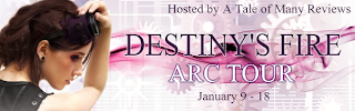 {Book Review+Tour Giveaway} Destiny's Fire by Trisha Wolfe