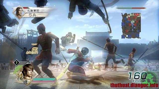 tải game hành động Dynasty Warriors 6