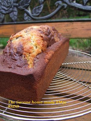 recettes  Cake Marbré (Savane maison)