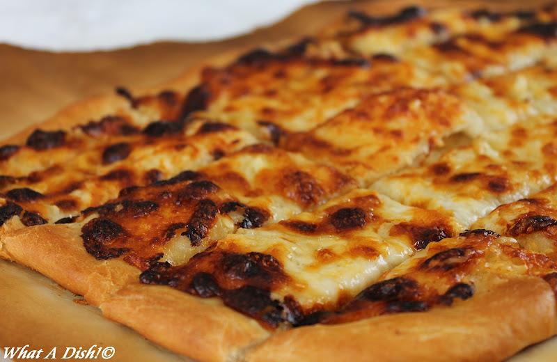 What A Dish!: Cheesy Garlic Bread Sticks