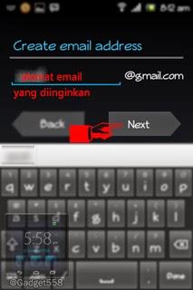Masukkan alamat email