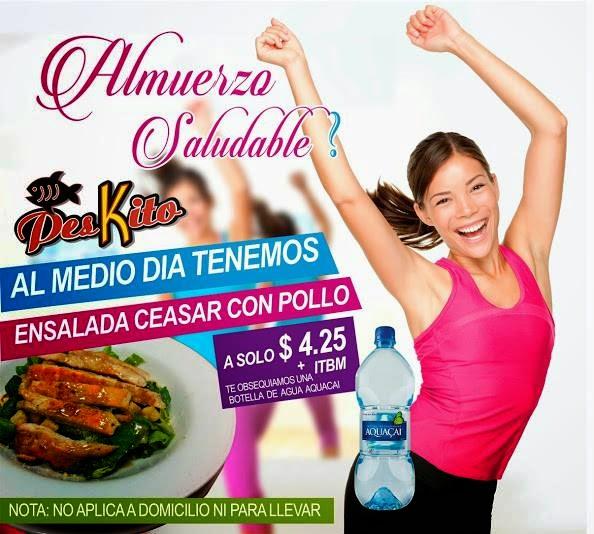 Almuerzo Saludable - Peskito