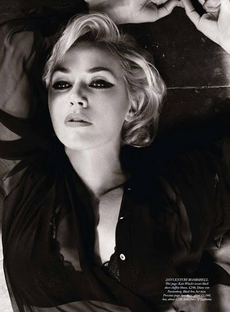 Kate Winslet-Harper's Bazaar