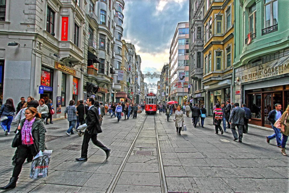 Istanbul the biggest city of Turkey