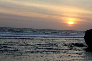 Sunset di Pantai Indrayanti