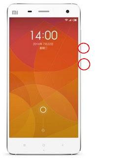 Cara Screenshot HP Android Xiaomi Mi4