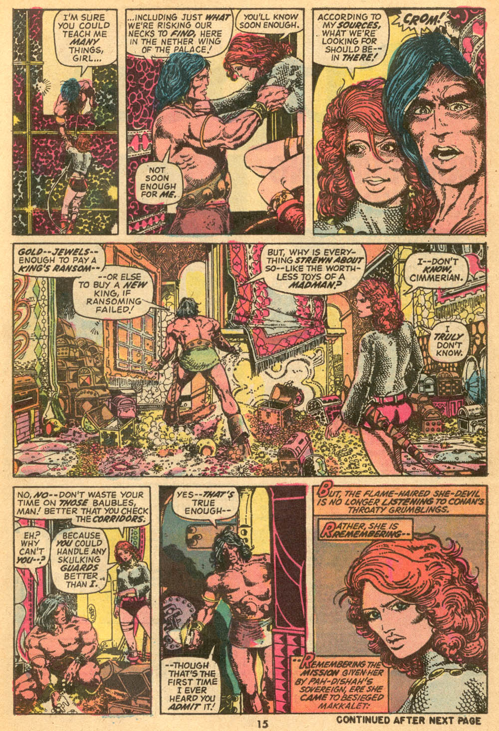 Conan the Barbarian (1970) Issue #24 #36 - English 12