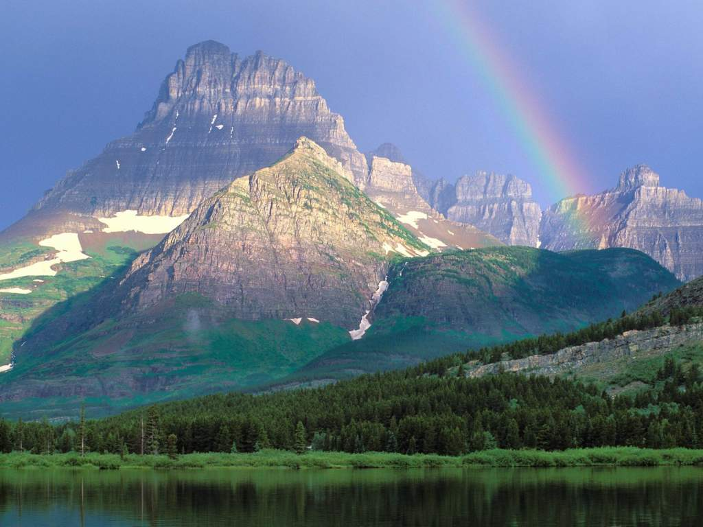 World Beautifull Places Glacier National Park Usa