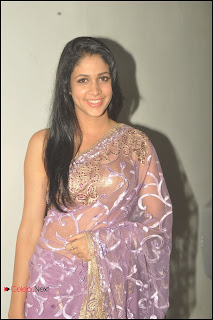 Lavanya Latest Pictures in Saree at Cine Maa Mahila Awards  0011.jpg