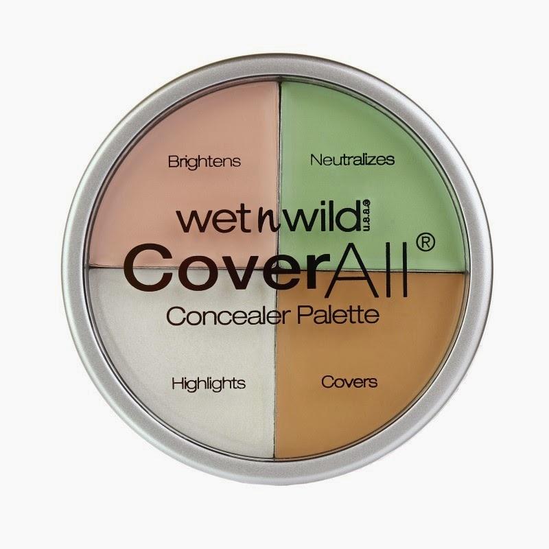 Makyaj, kızlar, wet n wild, cover all,concealer palet