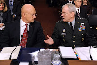 James Clapper and Ronald Burgess