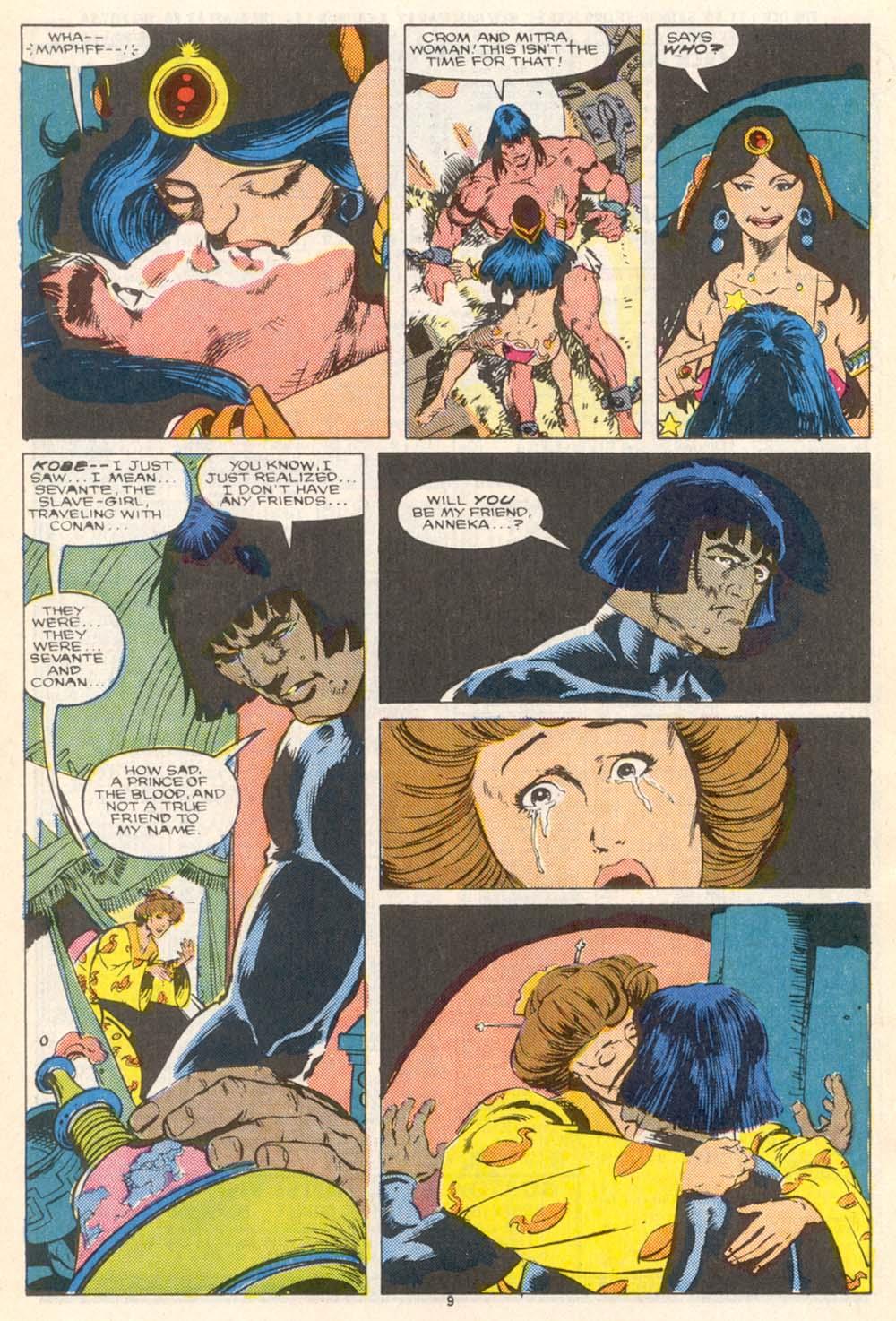 Conan the Barbarian (1970) Issue #208 #220 - English 8