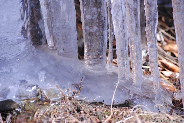 Stalattite ghiacciata