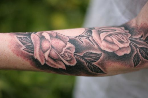 rose tattoos for men