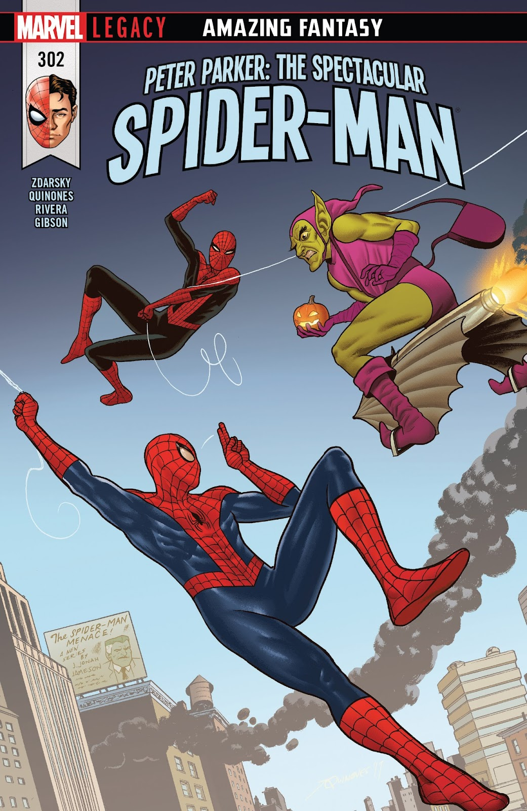 Peter Parker: The Spectacular Spider-Man issue 302 - Page 1