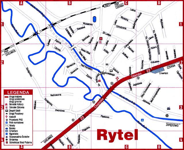 Mapa Rytla